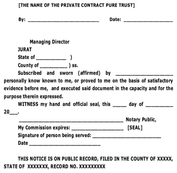 The_Name_of_The_Private_Contract_Pure_Trust